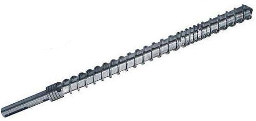 橡胶挤出机螺杆的修复方法