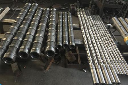 排气式橡胶挤出机螺杆机筒介绍