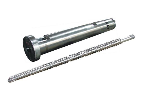 平行双螺杆挤出机机筒螺杆