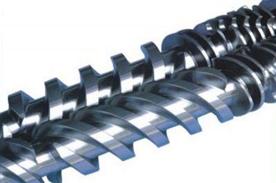 Conical twin screw &barrel
